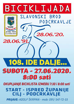 Biciklijada 108. ide dalje